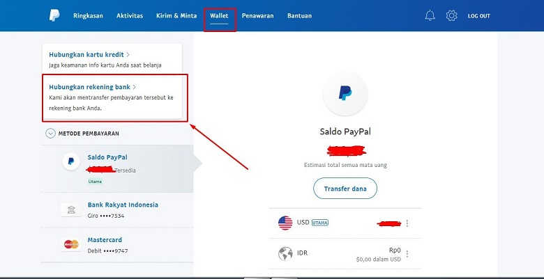 Cara Withdraw Transfer Saldo Paypal Ke Bank Bca 2020 Via Paypal