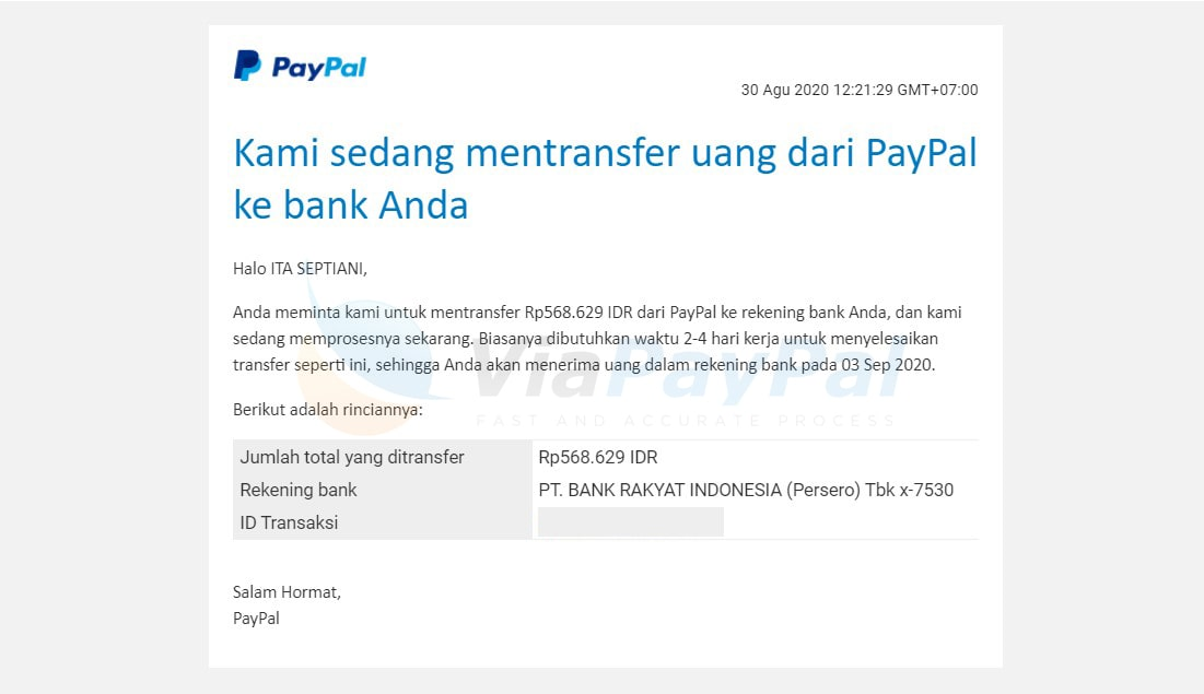 wd paypal limit permanen